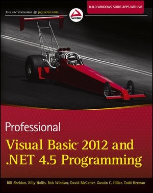 Professional Visual Basic 2012 and .NET 4.5 Programming (111833213X) cover image