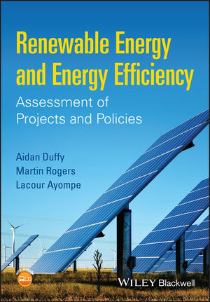 Renewable Energy and Energy Efficiency: Assessment of Projects and Policies  (111863103X) cover image