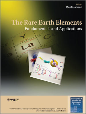 The Rare Earth Elements: Fundamentals and Applications (111863263X) cover image