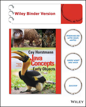 Java Concepts: Early Objects, Interactive Edition, 8th Edition