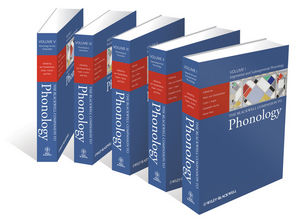 The Blackwell Companion to Phonology, 5 Volume Set