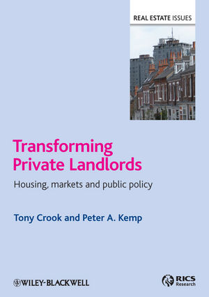 Transforming Private Landlords: housing, markets and public policy (144432943X) cover image
