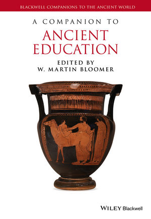 A Companion to Ancient Education (144433753X) cover image