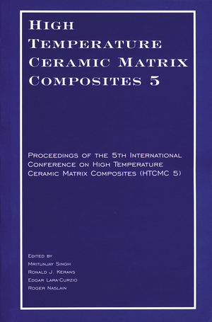 High Temperature Ceramic Matrix Composites 5 CD-ROM: Proceedings of the 5th International Conference on High Temperature Ceramic Matrix Composites (HTCMC 5)