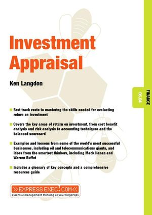 Investment Appraisal: Finance 05.04