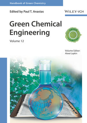 Green Chemical Engineering, Volume 12