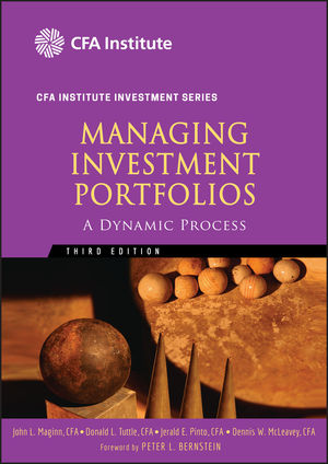 Managing Investment Portfolios: A Dynamic Process, 3rd Edition (0470080140) cover image