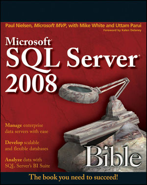 Microsoft SQL Server 2008 Bible (0470257040) cover image