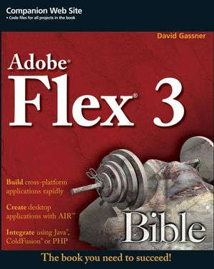 Flex 3 Bible (0470287640) cover image