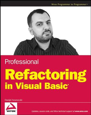 Professional Refactoring in Visual Basic (0470372540) cover image