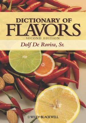 Dictionary of Flavors, 2nd Edition (0470384840) cover image