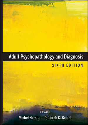 Adult Psychopathology and Diagnosis, 6th Edition (0470641940) cover image