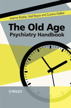 The Old Age Psychiatry Handbook: A Practical Guide (0470725540) cover image