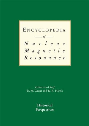 Encyclopedia of Nuclear Magnetic Resonance, 9 Volume Set