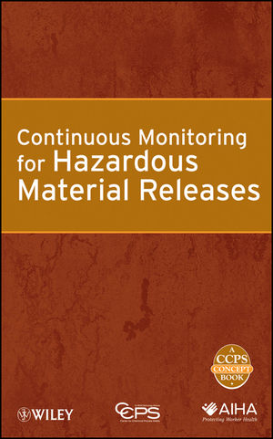 Continuous Monitoring for Hazardous Material Releases (0470925140) cover image