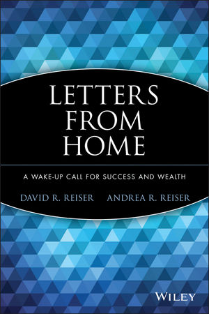 Letters from Home: A Wake-up Call for Success and Wealth (0470928840) cover image