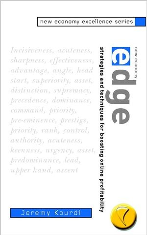 New Economy Edge: Strategies and Techniques for Boosting Online Profitability (0471498440) cover image