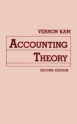 Accounting Theory, 2nd Edition (0471507040) cover image