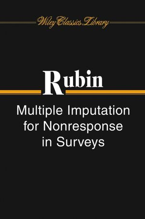 Multiple Imputation for Nonresponse in Surveys (0471655740) cover image