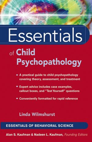 Essentials of Child Psychopathology (0471656240) cover image