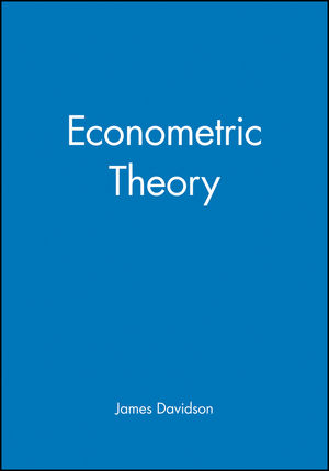 Econometric Theory (0631215840) cover image