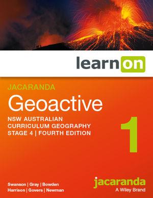 Jacaranda Geoactive Stage 4 NSW Australian curriculum learnON (Online Purchase)