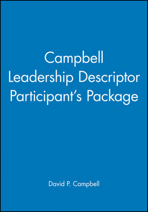 Campbell Leadership Descriptor Participant's Package
