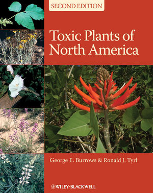 Toxic Plants of North America, 2nd Edition (0813820340) cover image