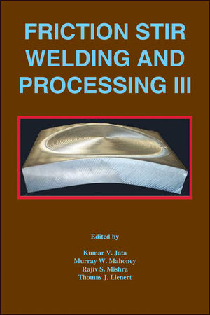 Friction Stir Welding and Processing III (0873395840) cover image