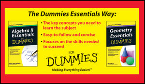 Algebra II and Geometry Essentials For Dummies Bundle