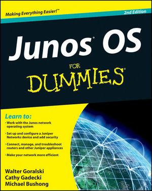 JUNOS OS For Dummies, 2nd Edition (1118173740) cover image