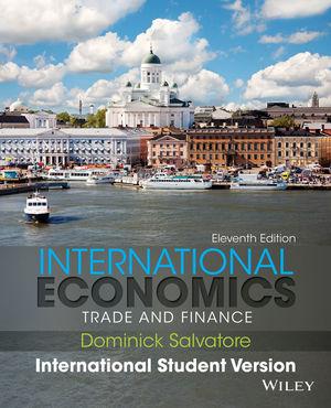 international economics trade and finance salvatore pdf