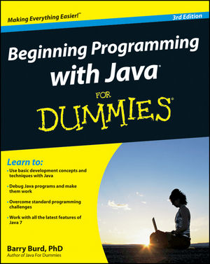 Beginning Programming with Java For Dummies, 3rd Edition (1118233840) cover image