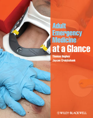 Adult Emergency Medicine at a Glance (1118293940) cover image