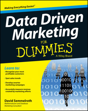 Data Driven Marketing For Dummies (1118615840) cover image