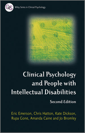Clinical Psychology and People with Intellectual Disabilities, 2nd Edition (1119283140) cover image