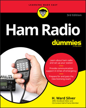 Ham Radio For Dummies, 3rd Edition (1119454840) cover image