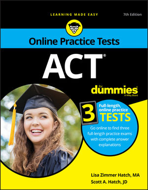 ACT For <span class='search-highlight'>Dummies</span>, with Online Practice, 7th Edition