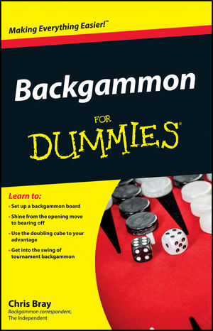 Backgammon For Dummies (1119996740) cover image