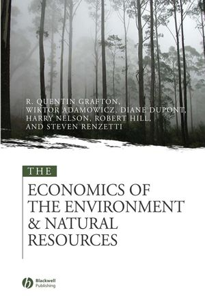 The Economics of the Environment and Natural Resources (1405142340) cover image