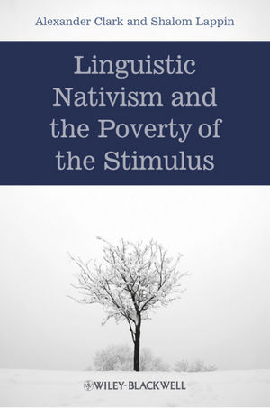 Linguistic Nativism and the Poverty of the Stimulus (1405187840) cover image