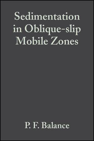 Sedimentation in Oblique-slip Mobile Zones