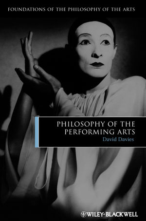 Philosophy of the Performing Arts (1444343440) cover image