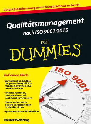 Qualitätsmanagement nach ISO 9001-2015 für Dummies