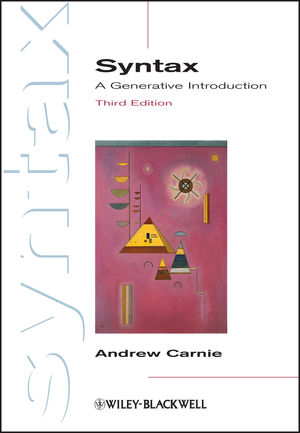 Syntax: A Generative Introduction, Third Edition (EHEP003040) cover image