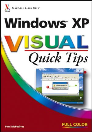 Windows XP Visual Quick Tips (0470009241) cover image