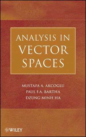 Analysis in Vector Spaces (0470148241) cover image
