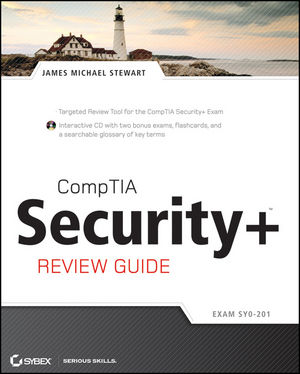 CompTIA Security+ Review Guide: SY0-201  (0470404841) cover image