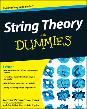 String Theory For Dummies (0470595841) cover image