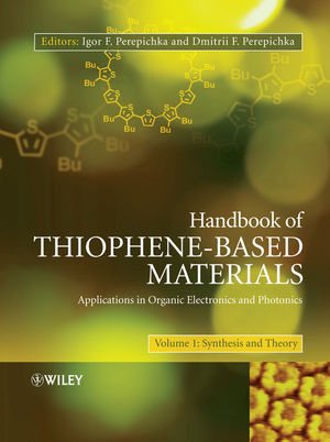 Handbook of Thiophene-Based Materials: Applications in Organic Electronics and Photonics, 2 Volume Set (0470745541) cover image
